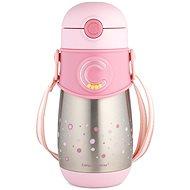 Canpol termosz palack szívószállal gyerekeknek (300 ml) rózsaszín - Gyerek termosz