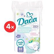 DADA kozmetikai törlőkendők gyermekek számára 4× 60 db - Törlőkendő