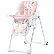 Kinderkraft YUMMY pink - Etetőszék