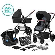 Kinderkraft 3 az 1-ben XMOOV 2020 Black - Babakocsi