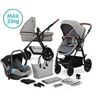 Kinderkraft 3 az 1-ben XMOOV 2020 Grey - Babakocsi