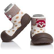 ATTIPAS Cipők Állatkert AZO01-Barna méret L (116-125 mm) - Gyerekcipők