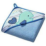 BabyOno kapucnis törölköző - kék - Gyerek fürdőlepedő