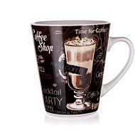 BANQUET COFFEE Kerámiabögre 360 ml, barna, 6db - Bögre