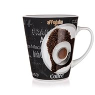 BANQUET Kerámiabögre COFFEE 360 ml, dekor 1, 6 db - Bögre