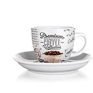 BANKET PREMIUM COFFEE Csésze és csészealj 190 ml, 6 db-os készlet