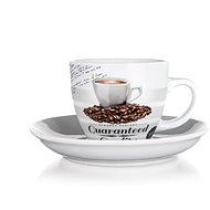 BANQUET GUARANTEED QUALITY Csésze és csészealj 190 ml, 6 db-os készlet
