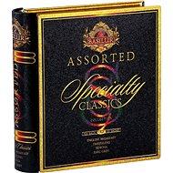 BASILUR Book Assorted Specialty Fém doboz 32 filteres tea - Tea
