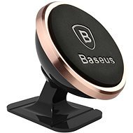 Baseus 360-degree Rotation Magnetic Mount Holder Rose Gold - Telefontartó