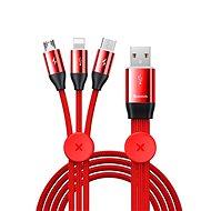 Baseus Car Co-sharing Cable USB 3.5A 1m, piros
