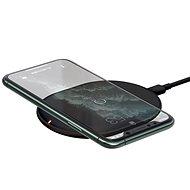 Baseus Cobble Wireless Charger 15W, fekete - Vezeték nélküli töltő