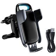 Baseus Milky Way Electric Bracket Wireless Charger 15W, fekete - Vezeték nélküli töltő