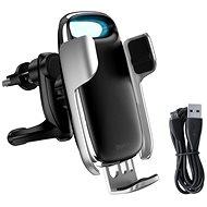 Baseus Milky Way Electric Bracket Wireless Charger 15W, ezüst - Vezeték nélküli töltő