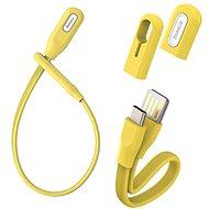 Baseus Bracelet Cable USB to Type-C (USB-C) 0,22m Yellow - Adatkábel
