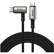 Baseus Hammer Type-C PD USB-C 3.1 Gen2 100W (20V / 5A / 10Gbps) 1,5m Black - Adatkábel