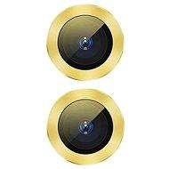 Baseus Alloy Protection Ring Lens Film iPhone 11-hez sárga - Védőfólia