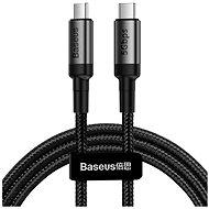Baseus Cafule Series Type-C PD USB-C 3.1 Gen1 Cable 60W (20V / 3A) 1m Szürke+Fekete - Adatkábel