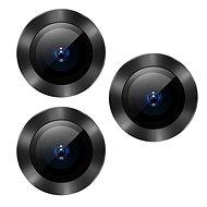 Baseus Alloy Protection Ring Lens Film for iPhone 11 Pro / 11 Pro Max, szürke - Védőfólia
