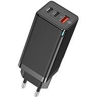 Baseus GaN Quick Travel Charger 65W - fekete - Hálózati adapter