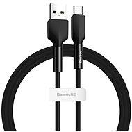 Baseus Silica Gel Cable USB to Type-C (USB-C) 1m Black - Adatkábel