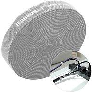 Baseus Rainbow Circle Velcro Straps 1m Gray - Kábelrendező