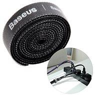 Baseus Rainbow Circle Velcro Straps 3m Black