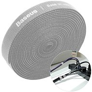 Kábelrendező Baseus Rainbow Circle Velcro Straps 3m Gray - Organizér kabelů