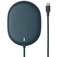 Baseus Light Magnetic Wireless Charger for iPhone 12 Series Blue - Vezeték nélküli töltő
