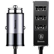 Baseus Enjoy Together 4x USB Patulous Car Charger 5,5A Dark Gray - Autós töltő