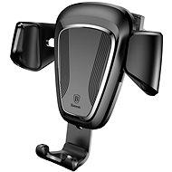 Baseus Gravity autós tartó fekete - Telefontartó