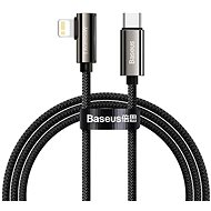 Baseus Elbow Fast Charging Data Cable Type-C to iP PD 20W 2 m Black - Adatkábel