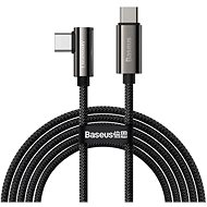 Baseus Elbow Fast Charging Data Cable Type-C to Type-C 100W 1 m Black - Adatkábel