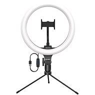 Baseus Live Stream Holder Ring Light Selfie Tripod Black - Telefontartó