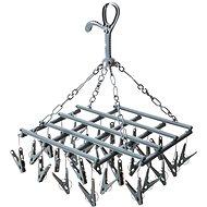 Bo-Camp Drying Carrousel Collapsible - 28 pegs - grey - Ruhaszárító