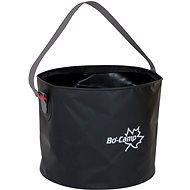 Bo-Camp Collapsible bucket 9L Black - Kemping edény