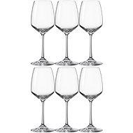 Crystalex fehérboros poharak 340 ml GISELLE 6db - Fehérboros pohár