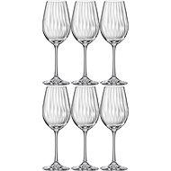 Crystalex Fehérboros pohár 350 ml WATERFALL 6 db - Fehérboros pohár
