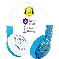 BuddyPhones Wave - Robot, kék - Headphones