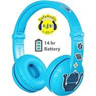 BuddyPhones Play, kék - Vezeték nélküli fül-/fejhallgató