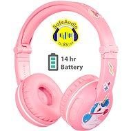 BuddyPhones Play, rózsaszín - Vezeték nélküli fül-/fejhallgató
