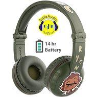 BuddyPhones Play, zöld - Vezeték nélküli fül-/fejhallgató