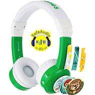 BuddyPhones Inflight, zöld - Headphones
