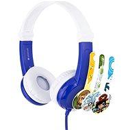 BuddyPhones Connect, kék - Fej-/fülhallgató