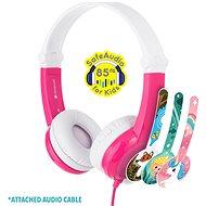 BuddyPhones Connect, rózsaszín - Fej-/fülhallgató