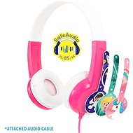 BuddyPhones Discover, rózsaszín - Fej-/Fülhallgató