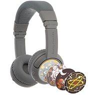 BuddyPhones Play+, világosszürke - Vezeték nélküli fül-/fejhallgató