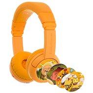 BuddyPhones Play+, sárga - Vezeték nélküli fül-/fejhallgató