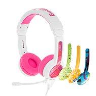 BuddyPhones School+, rózsaszín - Fej-/fülhallgató