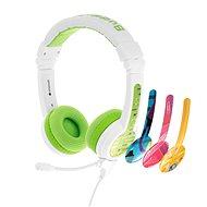 BuddyPhones School+, zöld - Fej-/fülhallgató