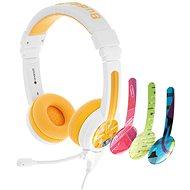 BuddyPhones School+, sárga - Fej-/fülhallgató